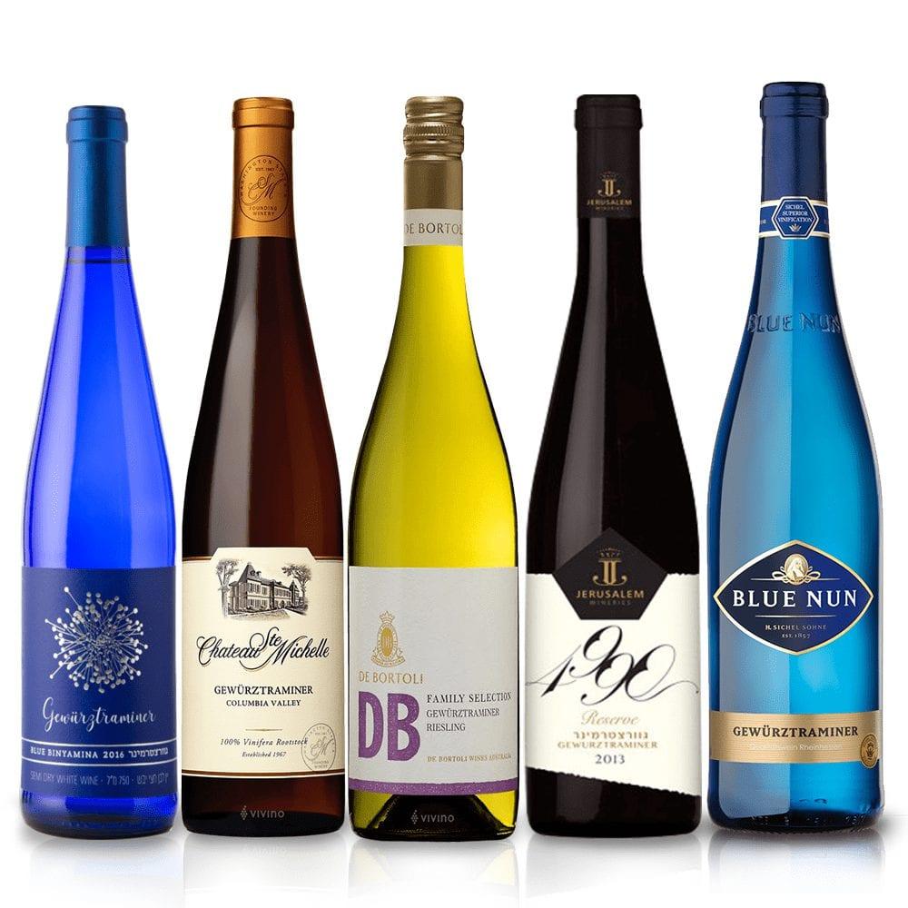 מארז יינות גוורצטרמינר מכל העולם